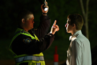 DWI Stop, Tests, & Arrest